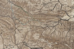 1877-Wandkarte-des-Riesen-Isergebirges-und-des-Hirschberger-Kreises-fragment-Michelsbaude-Friedrich